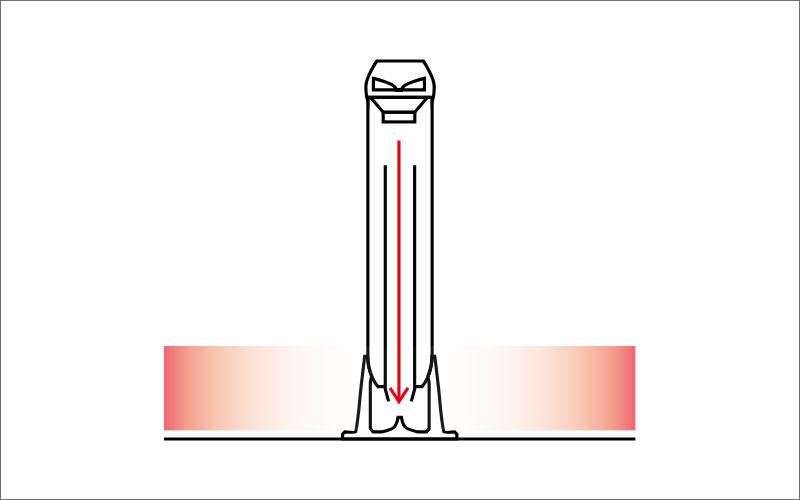 円筒形バスレフエンクロージャー